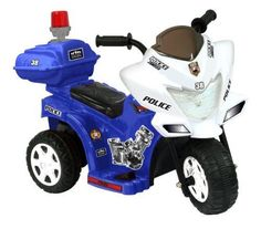 Lil Patrol 6V Blue and White 1970-Now Ride-Ons Tricycles Outdoor Toys Structures