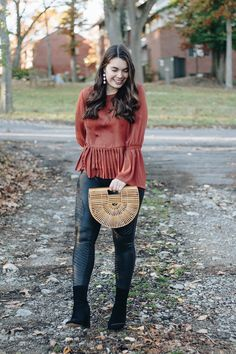 Thanksgiving Outfit Guide - My Sweet Genevieve