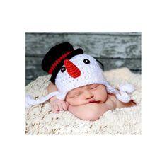 2015 новое поступление снеговик новорожденных 0   3 мес. infnat шляпу ребенка милая фотография крючком хэллоуин рождественский подарок roupa пункт bebe фото купить на AliExpress