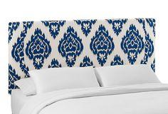 Slipcover Headboard, Blue/White | Bedroom Furniture | One Kings Lane