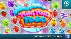 Yum Yum Fest - Facebook Games - HD Gameplay Trailer