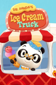 Dr. Panda's Ice Cream Truck, is coming THIS Thursday, March 12!