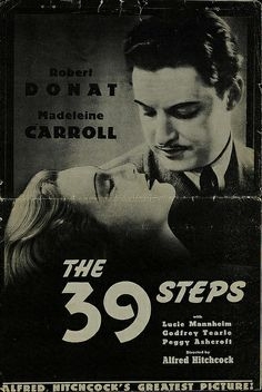 The 39 Steps (Alfred Hitchcock, 1935) one of my favourite films