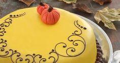 Opskrift fra La Glace | Græskarkage med appelsinglasur | Efterårskage