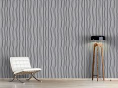 Design #Tapete Australische Streifen