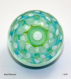 An experiment in Subtlety  Marble Brad Pearson   1 by pearsonglass, $85.00