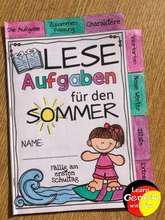 Lesemotivation für die Sommerferien. So motivierst du Kinder im Grundschulalter, mehr Bücher zu lesen. Das Heft enthält viele abwechslungsreiche Aufgaben, die alle etwas mit Büchern und lesen zu tun haben. So macht Kindern Lesen Spaß und sie sind auch in der Freizeit motiviert, ein Buch in die Hand zu nehmen. Im Blogartikel erfährst du, wie das Heft gestaltet ist und welche Aufgaben enthalten sind. #Grundschule #Lesen #Kinderbücher #Deutsch