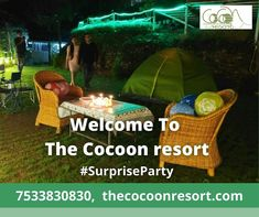 ❣️Plan Surprise Party In Cocoon Resorts❣️ The Cocoon Resort is the Best Resort In Nainital. Plan And Enjoy Your Best Moments With Cocoon In Nainital. #Nainital #bestresortinnainital #besthotelinnainital #HotelinNainital #resort #Resortinnainital #BestPlaceToStay #TheCocoonResort #UttrakhandTourism #Pangot #bestresort #contactus Nainital, Best Resorts, Camps, Good Things, In This Moment, How To Plan, Party, Nature, Naturaleza