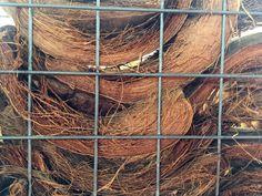 Trellis Scherm van kokosbasten. Natuurlijke schutting. Gadero productnr: VZ3401