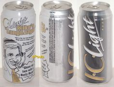 MIKE LANGE PITTSBURGH PENGUINS TV-RADIO VOICE NHL ICE HOCKEY SPORT PINT BEER CAN