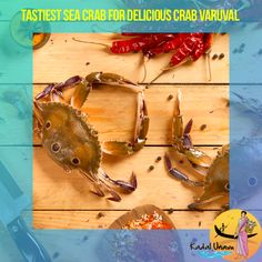 Sea Crab is the delicious crabs. Best way to cook this is to make a flavoured #CrabVaruval #CrabFry. Its delicious isn't it? Order at https://kadalunavu.com/product/sea-crab/ to prepare your delicious Sea Crab Fry.