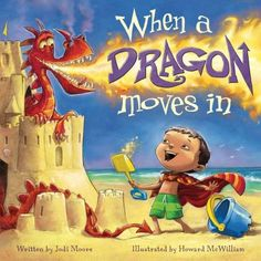 Jodi and her dragon are on Pinterest! http://www.flashlightpress.com/When_A_Dragon_Moves_In.html