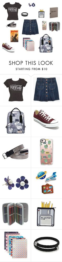 """Cece's outfit"" by jenam015 on Polyvore featuring Madewell, Converse, Fantas-Eyes, Casetify, Mokuyobi Threads and Alex and Ani"
