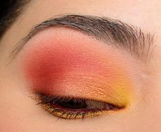 A Bright, Sunset Eye with ColourPop Yes, Please! Palette - Temptalia Beauty Blog: Makeup Reviews, Beauty Tips #BeautyTipsForHair Eyeshadow Tips, Eyeshadow Looks, Eyeshadow Palette, Bright Eyeshadow, Eyeshadow Tutorials, How To Do Eyeshadow, Colourpop Eyeshadow, Glitter Eyeshadow, Eyeshadows