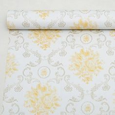 SimpleLife4U Luxury Gold Damask Self Adhesive Wallpaper for Living Room Bedroom Wall Decoration