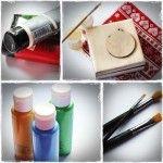 Podstawowe materiały i narzędzia do decoupage/http://www.kreatywnatrzcionka.pl/