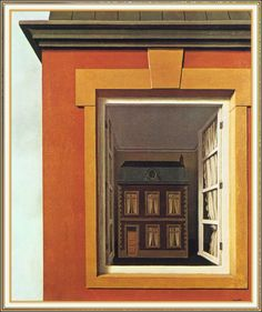 In Praise of Dialectics, 1937, Rene Magritte  Size: 54x65 cm Medium: oil, canvas