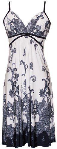 Paisley Goddess Dress