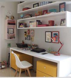 Study Room Design, Study Room Decor, Small Room Design, Room Design Bedroom, Cute Room Decor, Small Room Bedroom, Room Ideas Bedroom, Home Room Design, Home Office Design