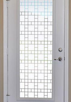 Exceptionnel Boardwalk Semi Privacy Window Film   Vinyl Window Covering
