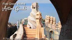 Antoni Gaudí's Top 5 architecture Works  // Top 5 Obres d'arquitectura d'Antoni Gaudí // Top 5 Obras de arquitectura de Antoni Gaudí   http://ves.cat/l_zX  Thank You, Gràcies, Gracias a: geobeats