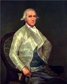 El pintor Francisco Bayeu (Francisco de Goya, 1795, Museo del Prado, Madrid)