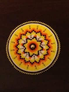 native american water bird beadwork | Native American Church ...