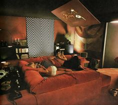 """What """"Man Caves"""" Used To Look Like In The 60's and 70's :http://airows.com/man-caves-used-look-like-60s-70s/"""