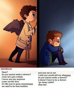 Supernatural met Frozen