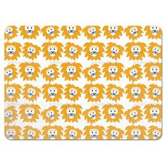 Uneekee Lion Heads Placemats
