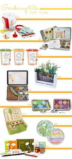 A Lovely Lark: 9 Cute Gardening Kits for Kids