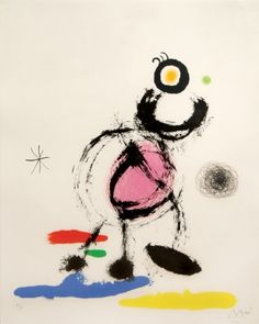 LOiseau Migrateur by Joan Miro