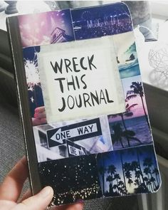 Wreck this journal cover idea tumblr pictures wreck this journal cover