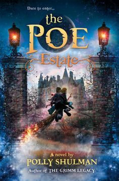 15 best ghost books for tweens and teens images on pinterest books the poe estate by polly shulman fandeluxe Image collections