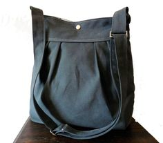 Awesome canvas messenger and tote bags from this designer.