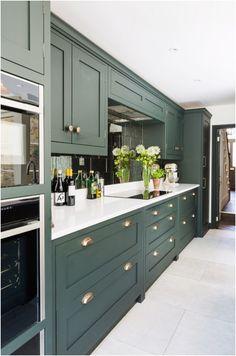 Home Decor Kitchen, Kitchen Living, Kitchen Furniture, New Kitchen, Home Kitchens, Kitchen Ideas, Kitchen Inspiration, Cheap Furniture, One Wall Kitchen