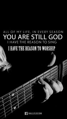 You are still my God