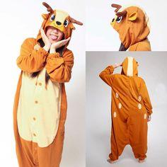 Deer Onesies Hoodie Pajamas Animal Kigurumi | PajamasBuy