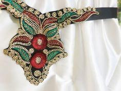 Belt,Handmade,Vintage,Textile,Black ,Cummerbund,Waistband,Satin Ribbon