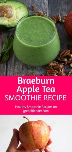 Braeburn Apple Tea Smoothie Recipe by Green Blender