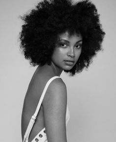Image result for model afro