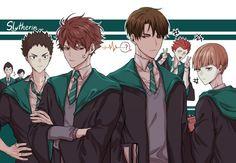Read Haikyuu en Hogwarts 🔮🔮🔮 from the story Las mejores versiones de Haikyuu! Kagehina, Iwaoi, Kuroken, Kenma, Nishinoya, Anime Boys, Manga Anime, Comic Anime, Haikyuu Ships