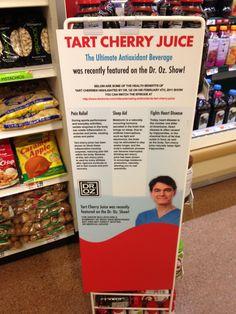 Dr. OZ tart cherry juice!
