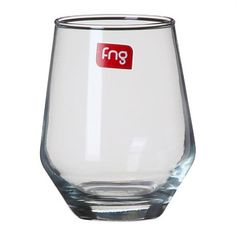 Briscoes - FNG Avigne Stemless Wine Glasses 406ml Set of 4