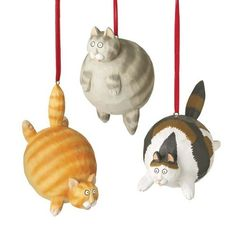 Puffy >^oo^< | Community Post: 14 Adorable Ornaments Every Cat Lover Needs On Their Tree