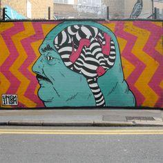 INSA layers street art paintings into animated graffiti gifs - http://www.thrivesolo.com