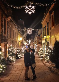 "Classy Girls Wear Pearls: Quebec City ""Winter Wonderland"""