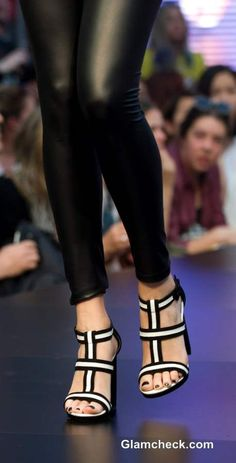 Wittner Monochrome shoes Collection at Melbourne Spring Fashion Week 2013