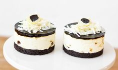 Hyldeblomstmousse, Oreo kiksebund og SUMMER-lakrids - Lakrids by Johan Bülow Fika, Cheesecake, Oreo, Mousse, Sandwiches, Pudding, Tasty, Sweets, Blog