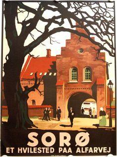 Sorø ligger på Midtsjælland. Byen opstod tilbage i 1100-tallet og er mest kendt for Sorø Akademi.
